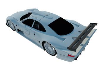 Automóvil 3d aislado recurso grafico