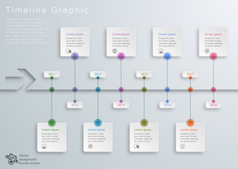 Timeline Graphic #Vector Graphic