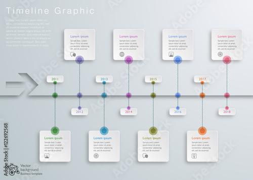 timeline graphic vector graphic fotolia com の ストック画像と