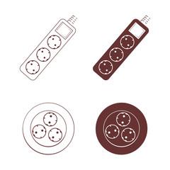 Socket icon set
