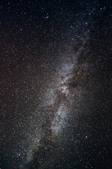 Milky Way in the sky