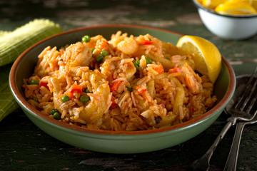 Cuban Cuisine - Arroz con Mariscos