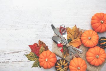 Thanksgiving Setting Background