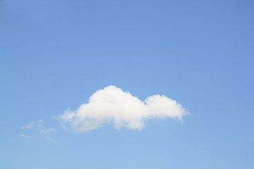 Blue sky and Cloud ,The vast blue sky and Cloud motion