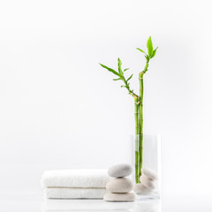 white vase towel 2560x1440 - photo #24