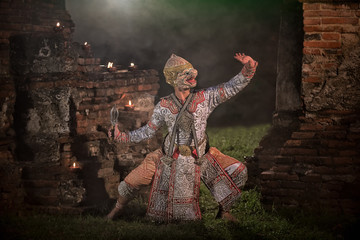 STRICTLY KHON DANCING (HANUMAN): PERFORMERS of one of Thailand's most highly regarded dances are keeping the tradition alive, despite the recent decline in popularity of the art form