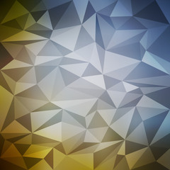 Triangle pattern mosaic background