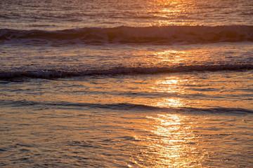 Wall Mural - Atlantic ocean sunset, Lacanau France