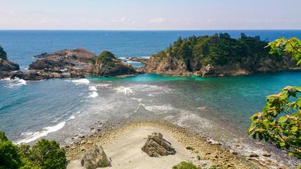 和歌山 夫婦波  Couple wave, Wakayama, Japan