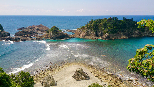 和歌山 夫婦波  Couple wave, Wakayama, Japan