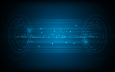 vector networking data traffic concept circular pattern design background
