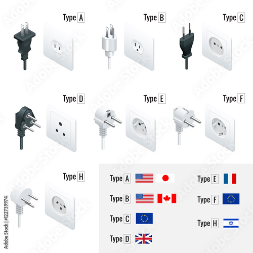 electrical plug types type a type b type c type d. Black Bedroom Furniture Sets. Home Design Ideas