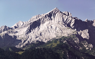 Alpenpanorama Alpspitze