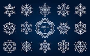 Snowflake Emblem Set