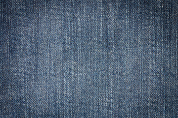 Closeup of blue denim jeans for background