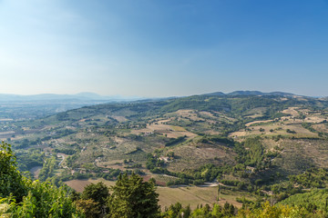 Assisi, Italy. Neighborhood of the city