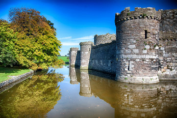 Beaumaris Castle  Anglesey Wales
