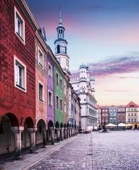 Stary rynek w Poznaniu, Polska