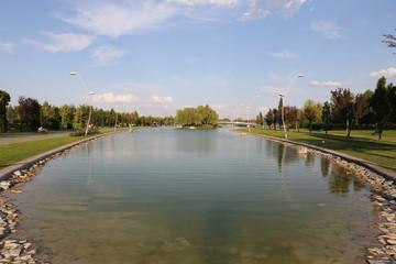 Kentpark in Eskisehir City
