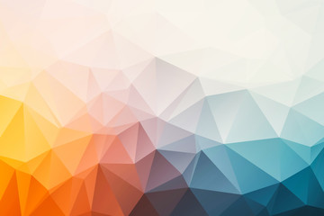triangular abstract background Wall mural