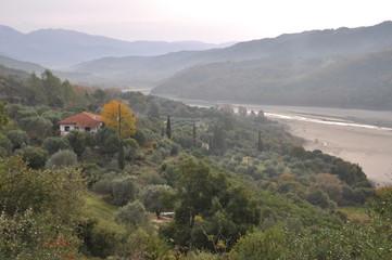 Autumn Mountains, Greece