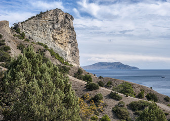 Crimean peninsula, the village of New World surroundings.