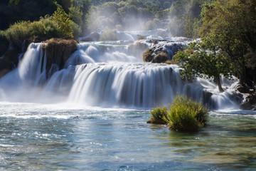 Waterfalls, Krka National Park,Croazia Wall mural