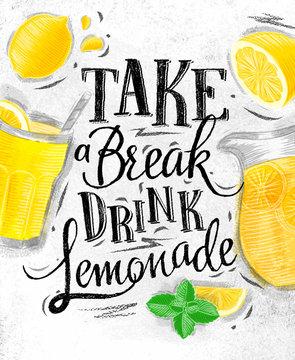 Poster lemonade coal
