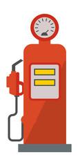 Gasoline pump vector illustration.