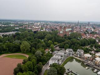 Speyer Dom Luftaufnahme