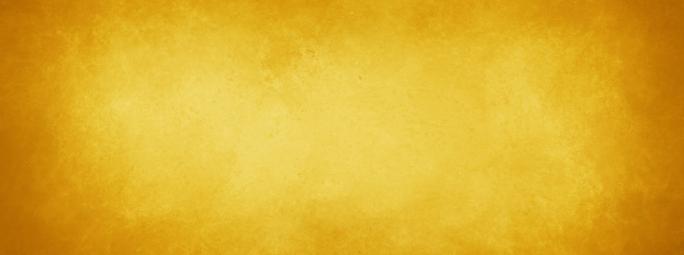 gold background with vintage texture, yellow background with brown border, old yellow paper or parchment
