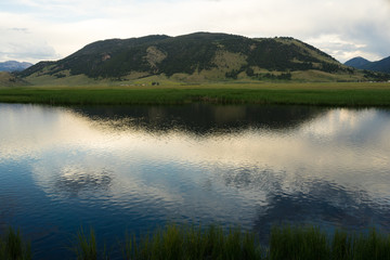 Flathead Creek Miller's Butte Jackson Wyoming
