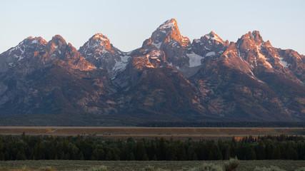 The Rocky Mountains Grand Teton National Park