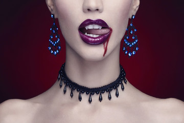 halloween,beautiful woman,vampire
