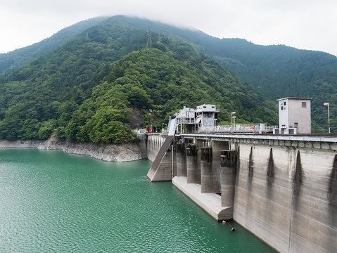 Ikawa Dam in Shizuoka, Japan (静岡県 井川ダム)