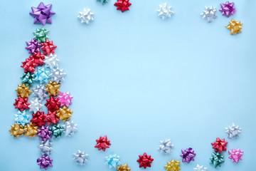 Christmas tree of bows