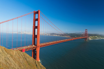 Photo sur Toile San Francisco Golden Gate