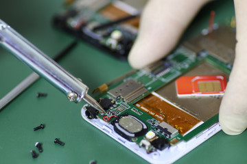 phone repair chip