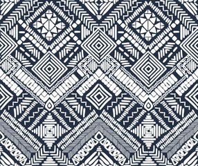 Aztec seamless vector pattern