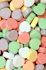 heart shape candies