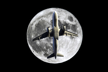 Full Moon airplane