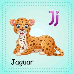 Animals alphabet: J is for Jaguar
