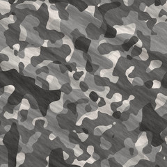 Abstract camo pattern - digitally generated image