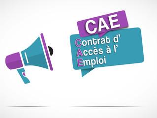 mégaphone : CAE