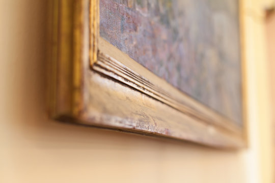 painting detail at auction