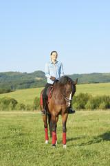 Keep calm and go horse riding