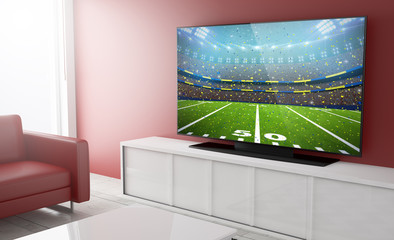 Television smart football