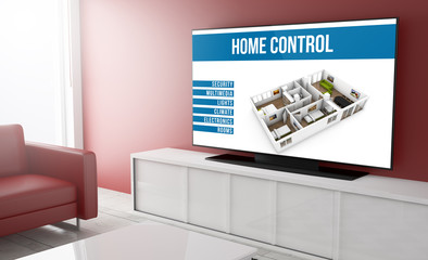 Television smart home control