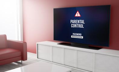 Television smart parental control