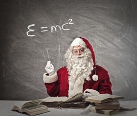 Santa Claus teaching